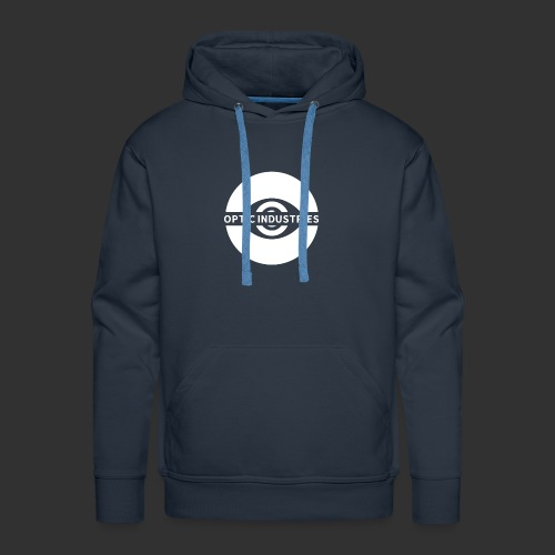 OPTIC Industries logo (White) - Men's Premium Hoodie