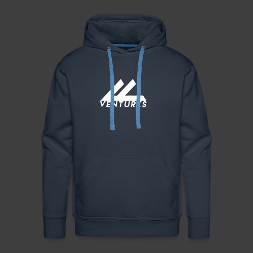 Vanity Ventures White Logo - Men's Premium Hoodie