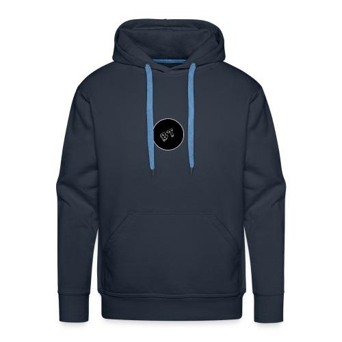 DJ BeatT BT Black logo - Men's Premium Hoodie