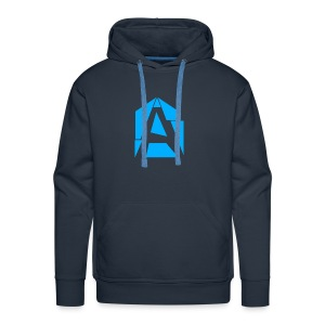 Abstrakt Simplistic - Men's Premium Hoodie
