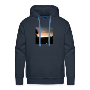 Country side sunset - Men's Premium Hoodie