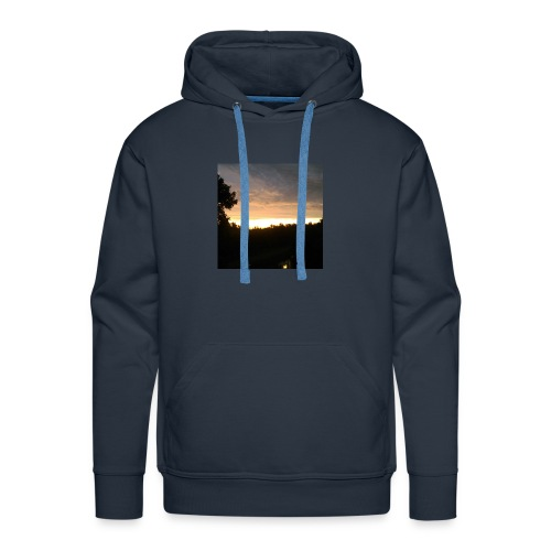 Country side sunset - Men's Premium Hoodie