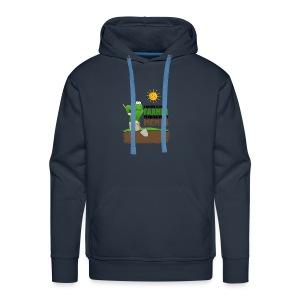I AM BUT A SIMPLE FARMER TENDING TO MY MEMES - Men's Premium Hoodie