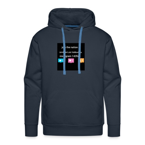 first shirt - Men's Premium Hoodie
