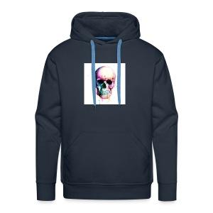 Colourful skull - Men's Premium Hoodie