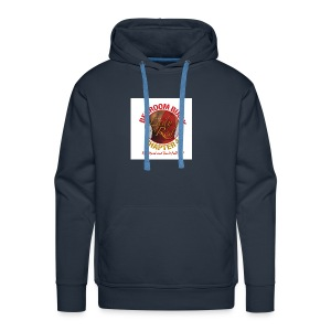Lady in Red Bedroom Bully - Men's Premium Hoodie