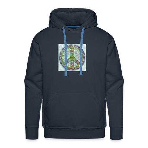 peace sign - Men's Premium Hoodie
