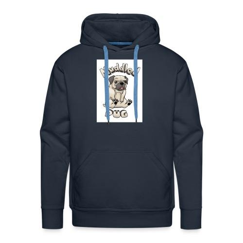 muddled-pug - Men's Premium Hoodie