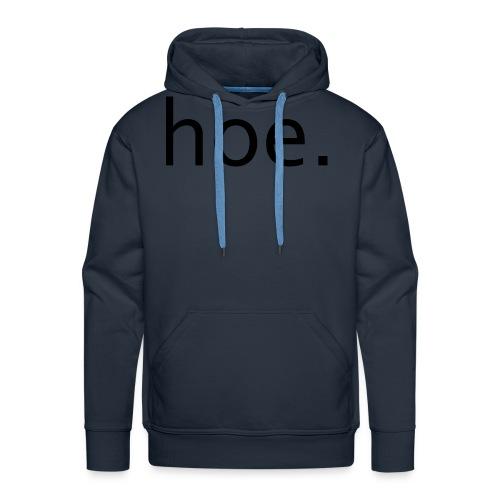 hoe - Men's Premium Hoodie