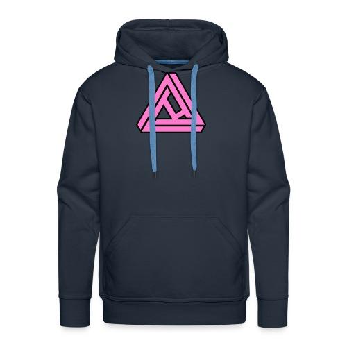 Breast Cancer Awareness Logo - Men's Premium Hoodie