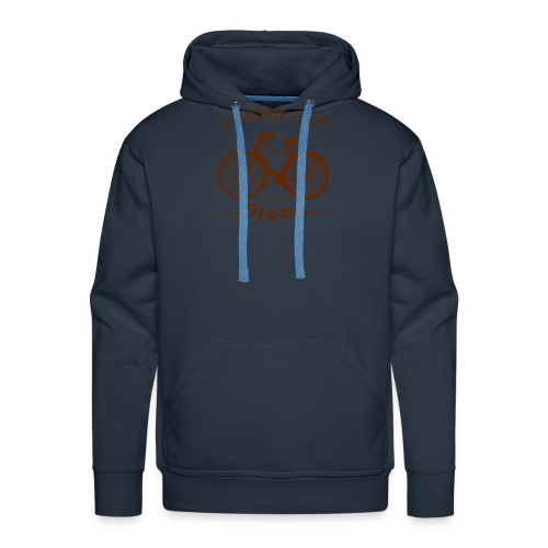 I WORK OUT FOR PIZZA - Men's Premium Hoodie