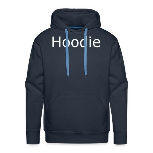 Hoodie Hoodie White - Men's Premium Hoodie