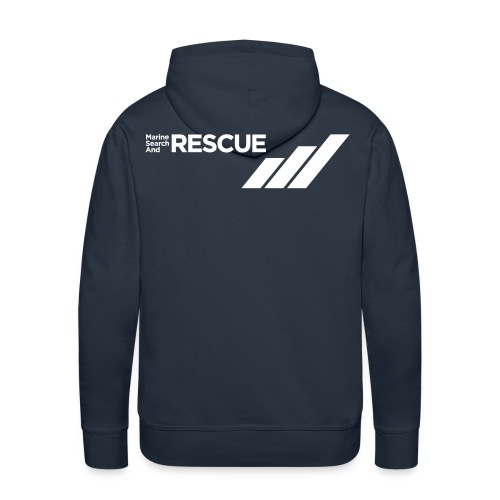 MSAR Logo and Stripes - Men's Premium Hoodie