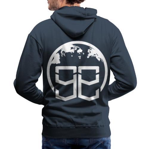 Global Goons White original - Men's Premium Hoodie