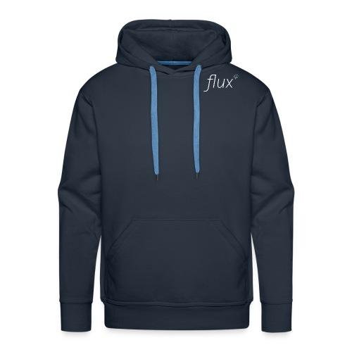 flux logo shirt png - Men's Premium Hoodie