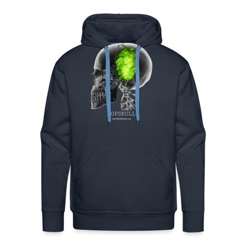 HOPSKULL T-Shirt (Double Sided) - Men's Premium Hoodie