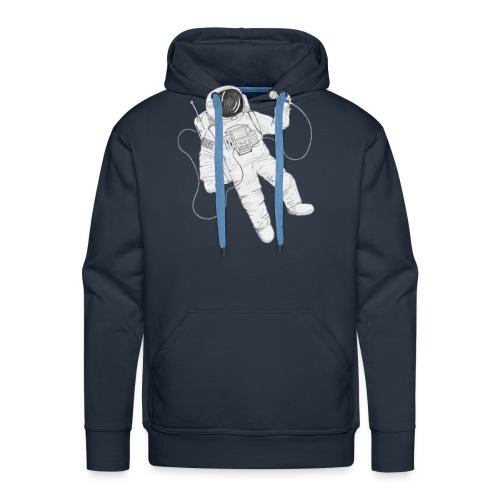 Remo Conscious-Souls In A Cipher Astronaut - Men's Premium Hoodie