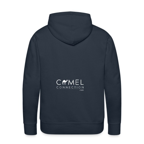 WHITEcamelconnection - Men's Premium Hoodie