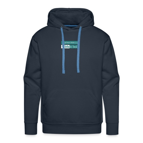 Starseemn234 with it boi | Premium hoodie and case - Men's Premium Hoodie
