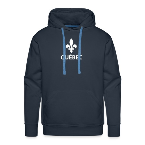 Québec - Molleton à capuche Premium pour homme
