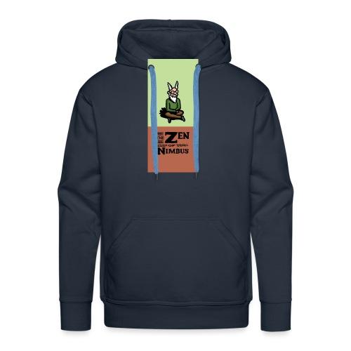 Nimbus and logo full color vertical format - Men's Premium Hoodie