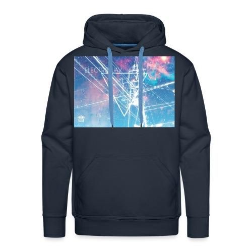 NewTshirt 3 electrowav jpg - Men's Premium Hoodie