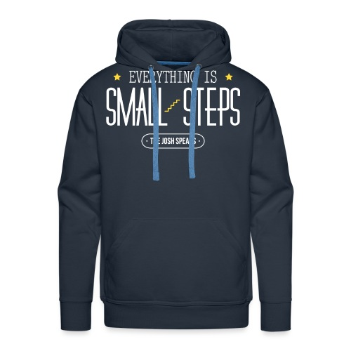 Everything is Small Steps - Men's Premium Hoodie