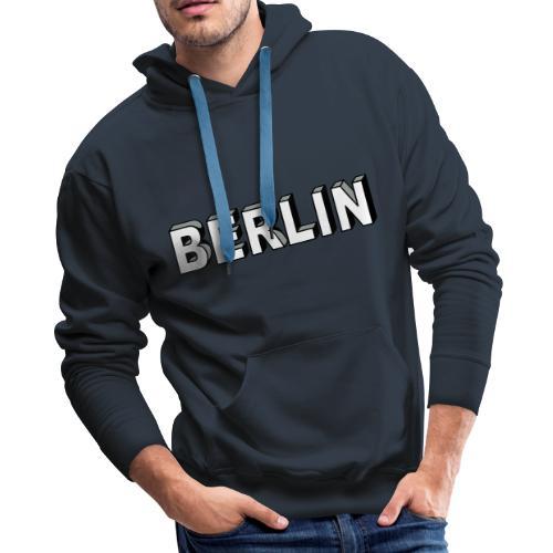 BERLIN Block Letters - Men's Premium Hoodie