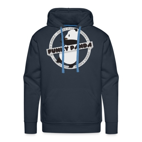 Funky Panda Logo - Men's Premium Hoodie