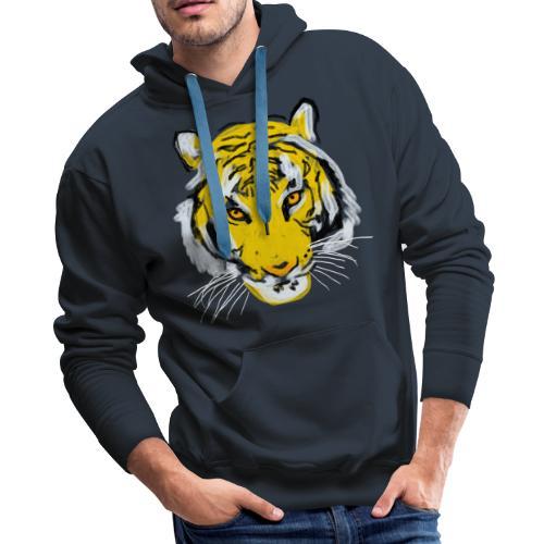 Tiger head - Men's Premium Hoodie