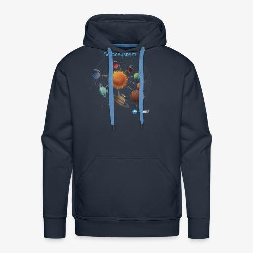 Solar System Scope : Solar System - Men's Premium Hoodie