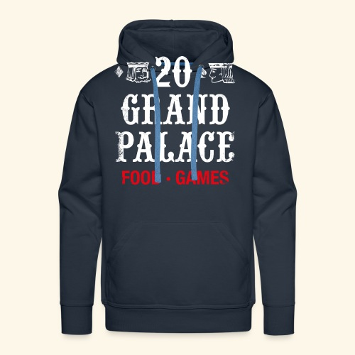 20 Grand Palace (neg.) - Men's Premium Hoodie