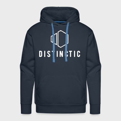 distinctic-logo - Men's Premium Hoodie