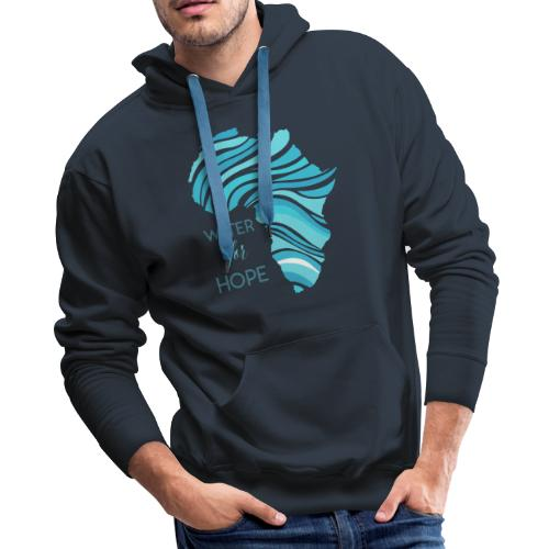 WATER for HOPE - Men's Premium Hoodie