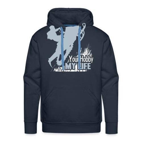 Snowmobile Hobby Life - Men's Premium Hoodie