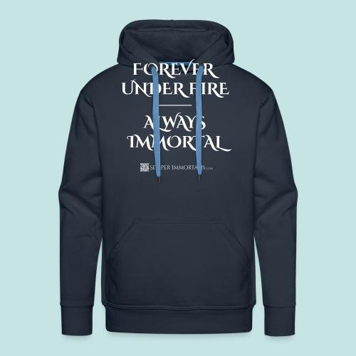 Always Immortal (white) - Men's Premium Hoodie