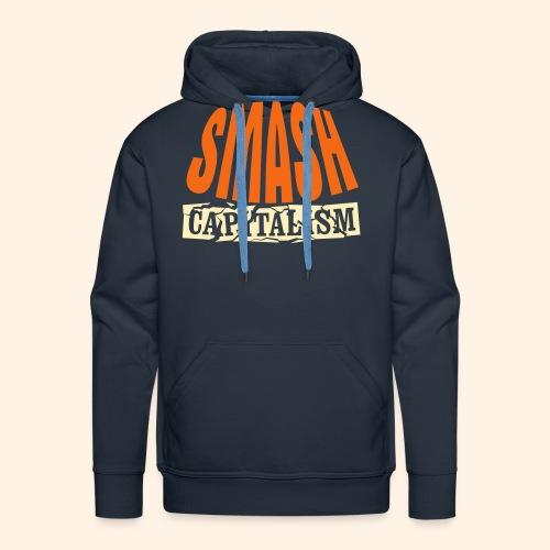 Smash Capitalism - Men's Premium Hoodie