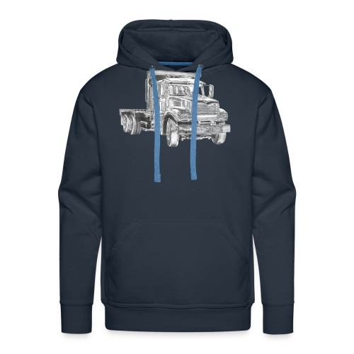 Flatbed Truck - Men's Premium Hoodie