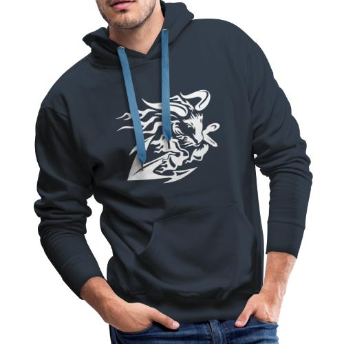 Goat with Anchor - Men's Premium Hoodie