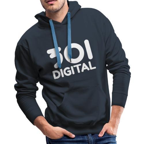 Studios 301 Digital Retro Logo - Men's Premium Hoodie