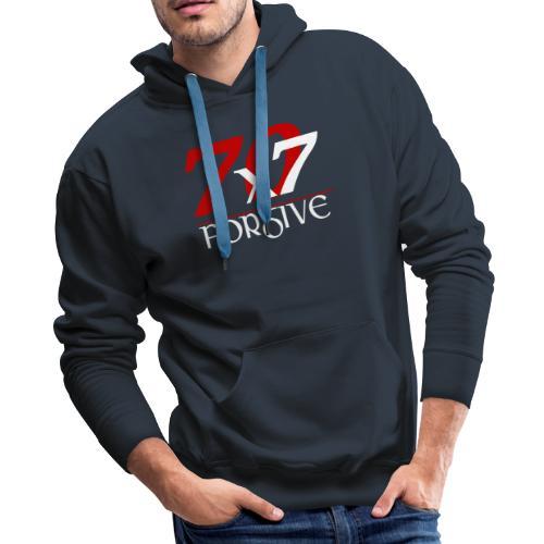 Forgive 70 x 7 times - Men's Premium Hoodie