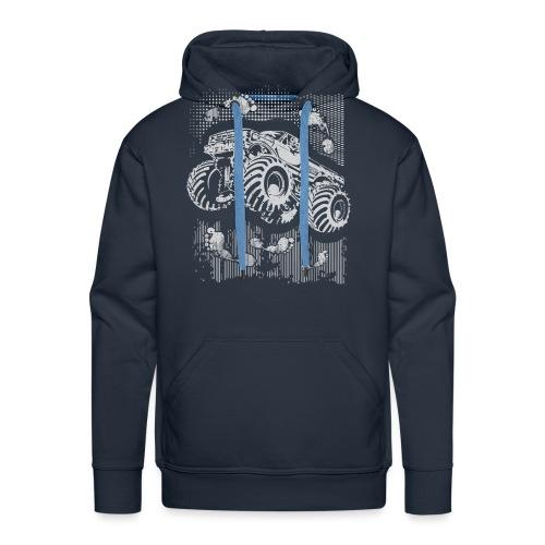 Monster Big Foot Grunge Baby & Toddler Shirts - Men's Premium Hoodie