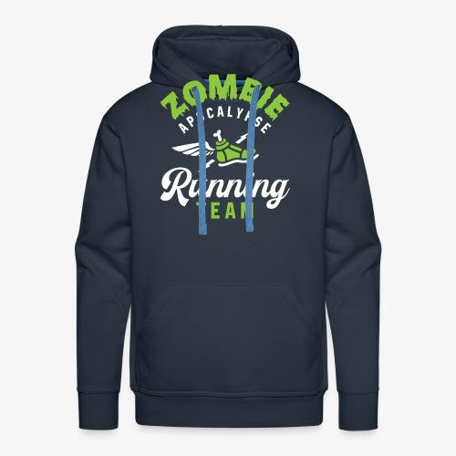 Zombie Apocalypse Running Team - Men's Premium Hoodie