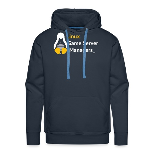 Linux Game Server Managers - Men's Premium Hoodie