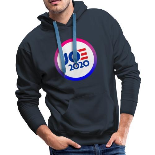 JOE 2020 White - Men's Premium Hoodie