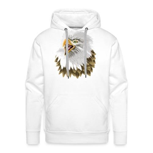 Big, Bold Eagle - Men's Premium Hoodie