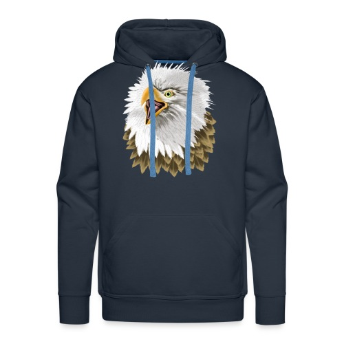 Big, Bold Eagle - Men's Premium Hoodie