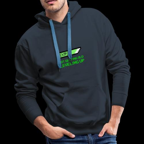 Not Getting Old - Leveling Up - Men's Premium Hoodie
