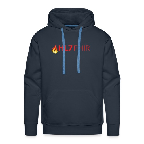 HL7 FHIR Logo - Men's Premium Hoodie