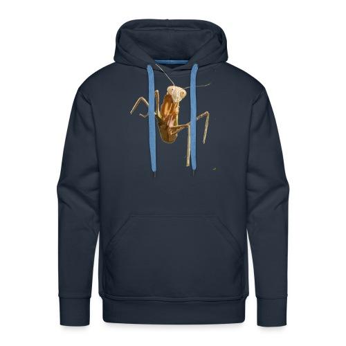 praying mantis - Men's Premium Hoodie
